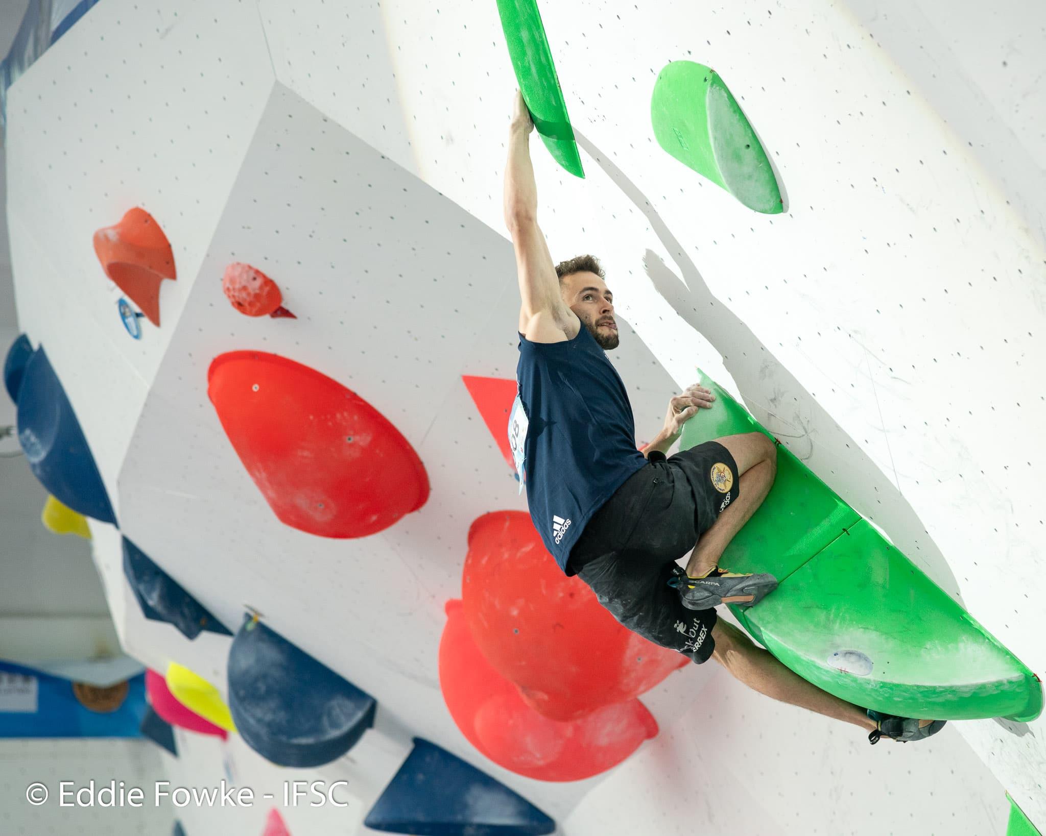 Manu Cornu et Mejdi Schalck qualifiés en demi-finale à Meiringen