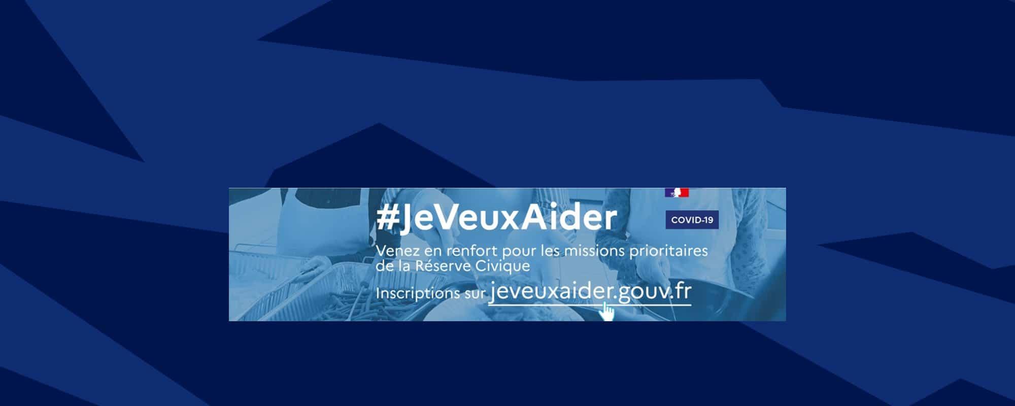Lancement de la plateforme solidaire : jeveuxaider.gouv.fr