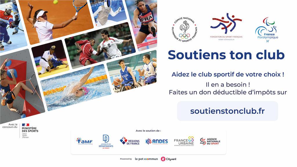 #SoutiensTonClub : la plateforme solidaire pour les associations sportives