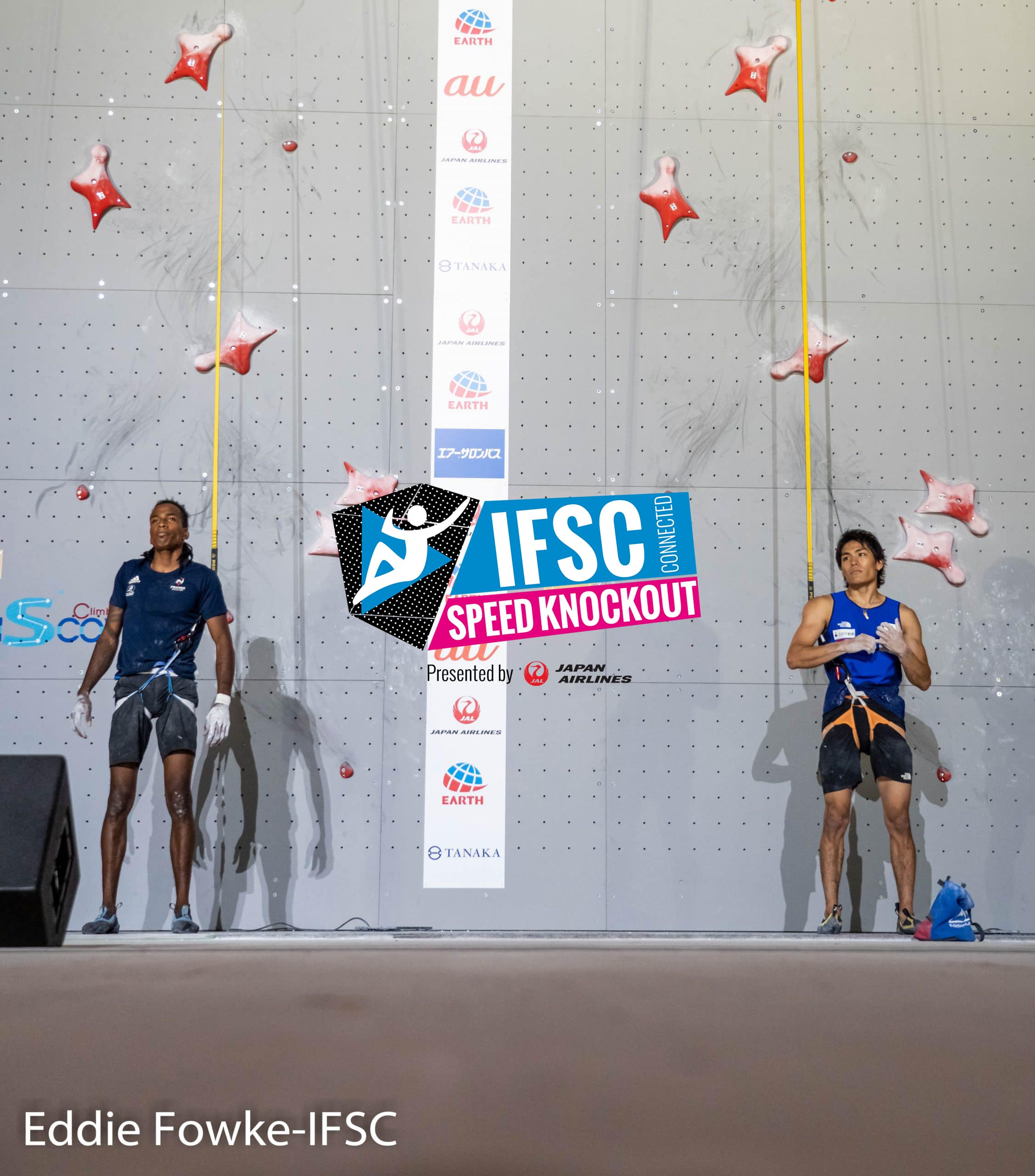 IFSC Connected Speed Knockout : la première compétition d'escalade de vitesse à distance !