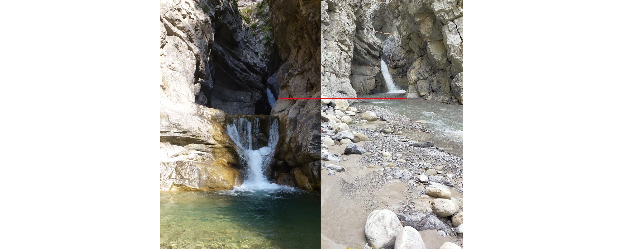 Vigilance canyon Alpes Maritimes
