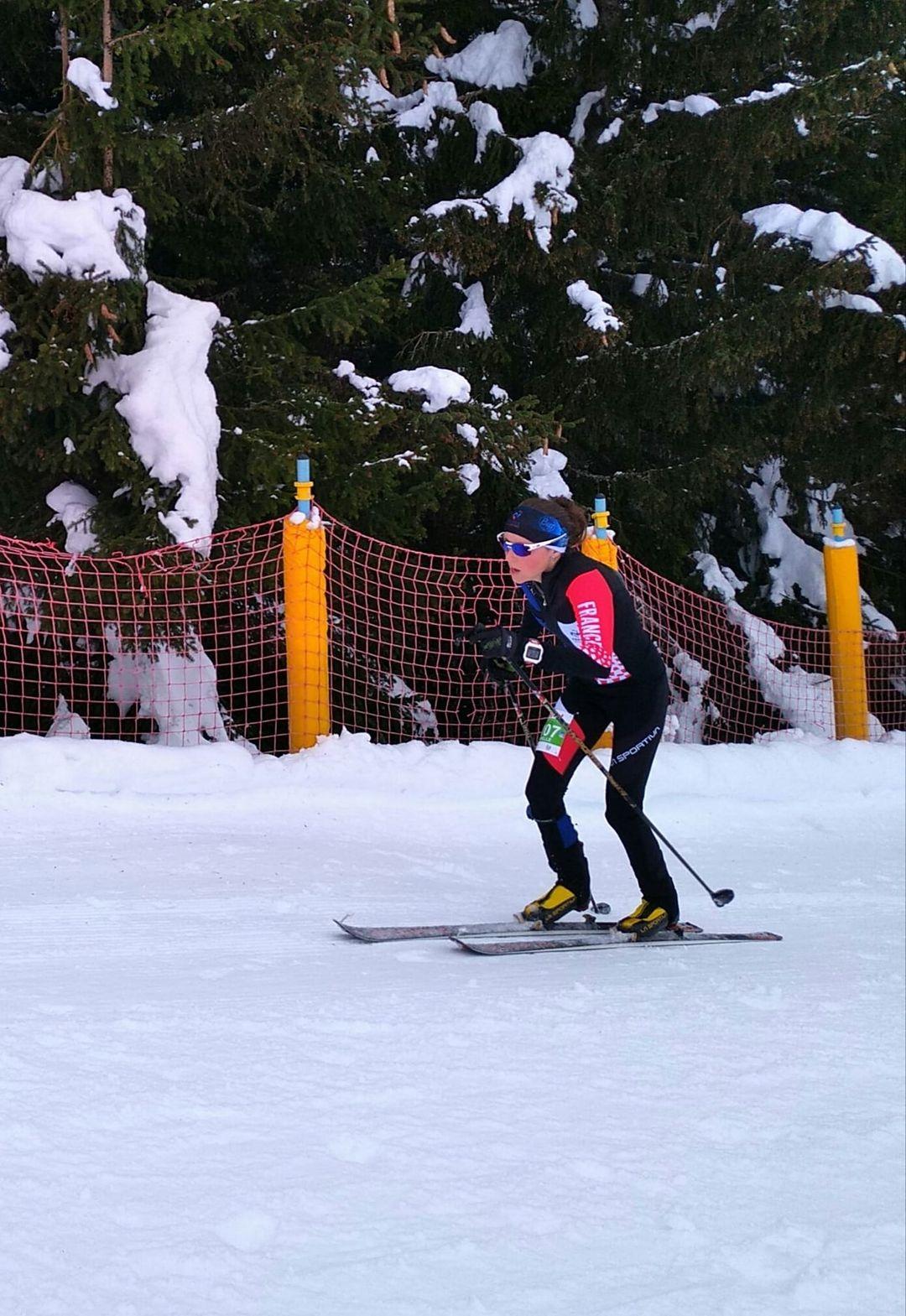 Axelle Gachet-Mollaret surclasse la course verticale