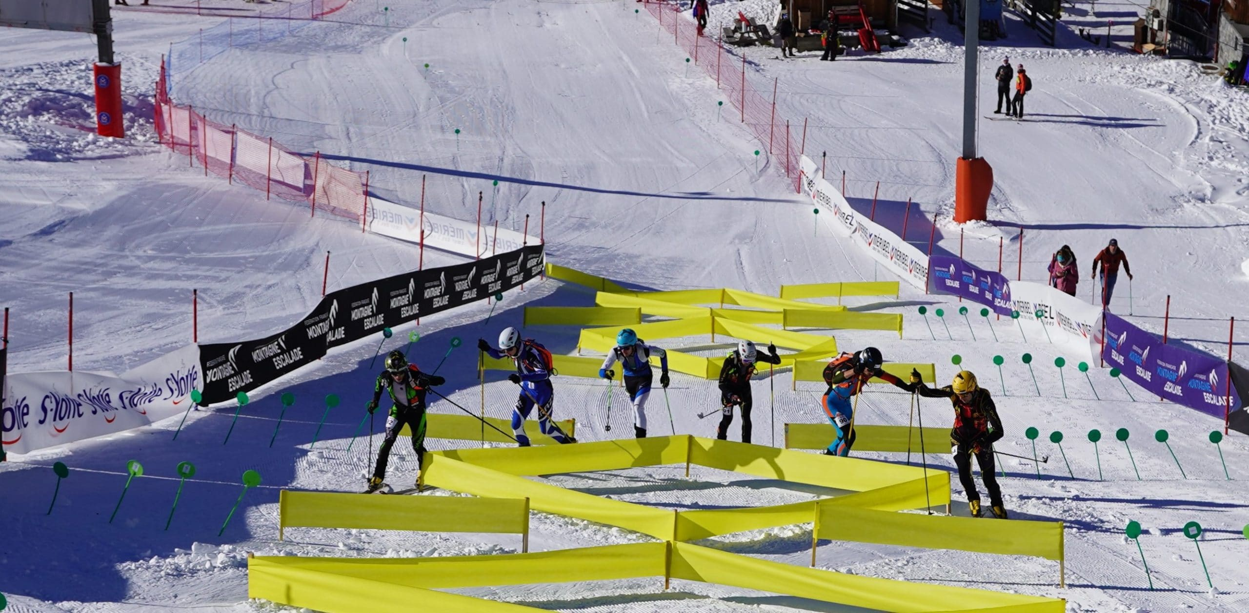 Les moments forts du championnat de France de ski-alpinisme – Sprint à Méribel