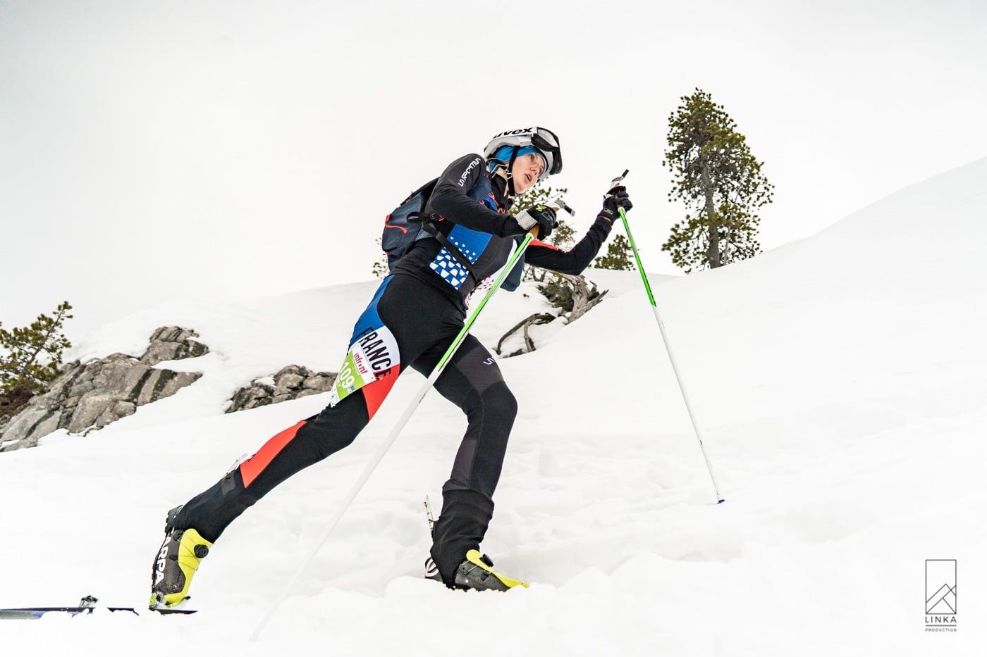 Emily Harrop prend le bronze du sprint
