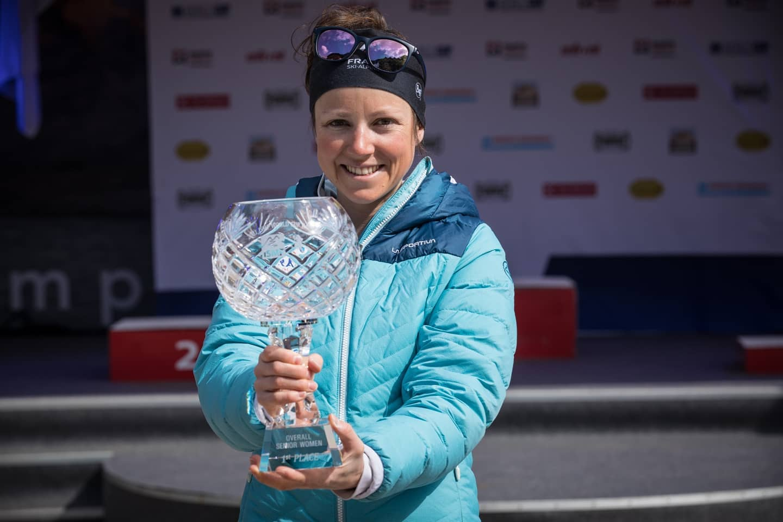 Axelle Gachet-Mollaret remporte le «Globe de cristal» 2021