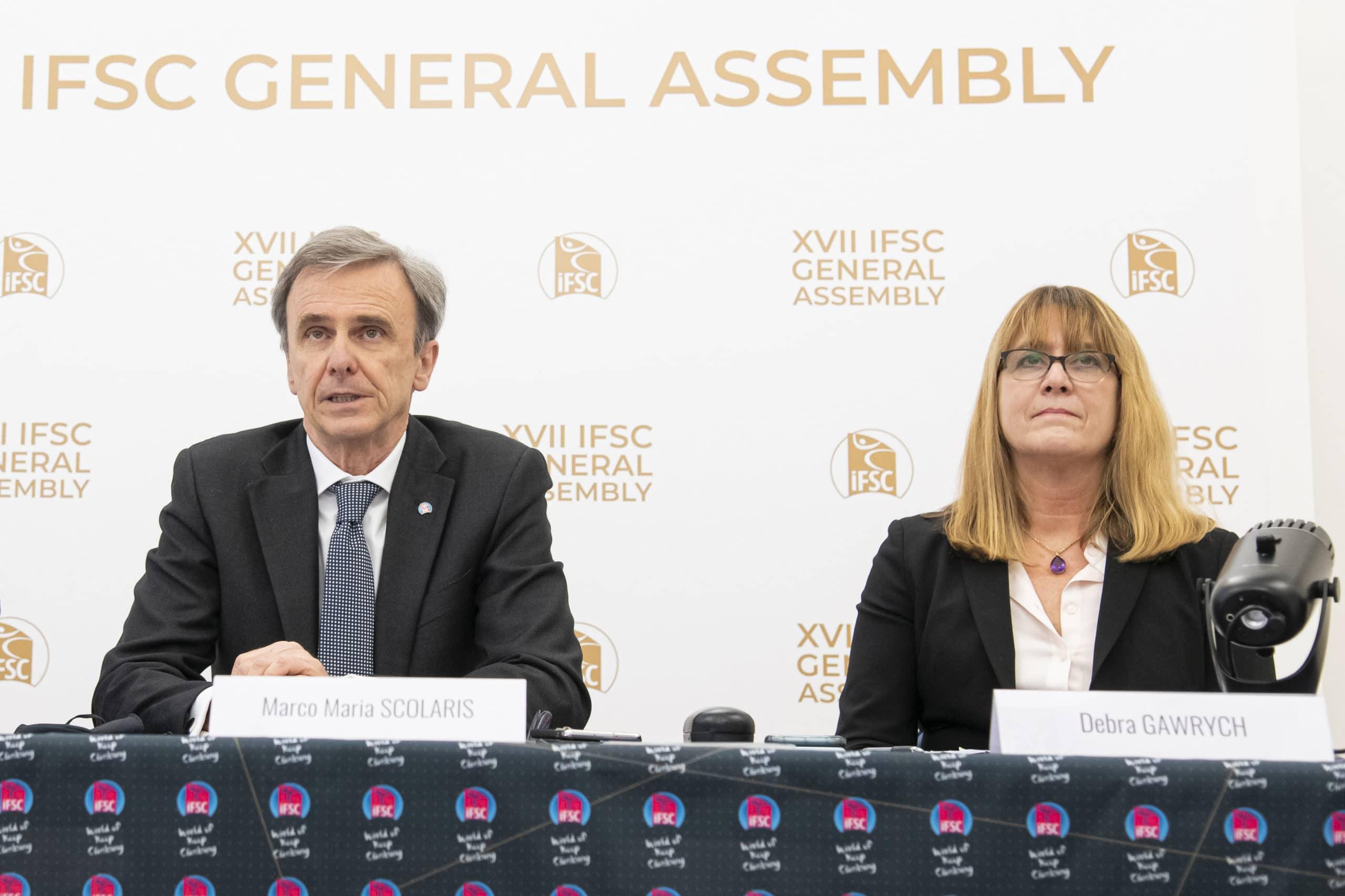 Marco Scolaris réélu à la présidence de l'IFSC