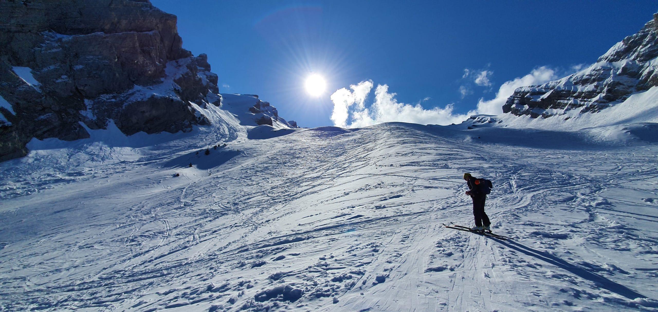 Une sortie «initiation ski de randonnée» du SMUS par temps de COVID