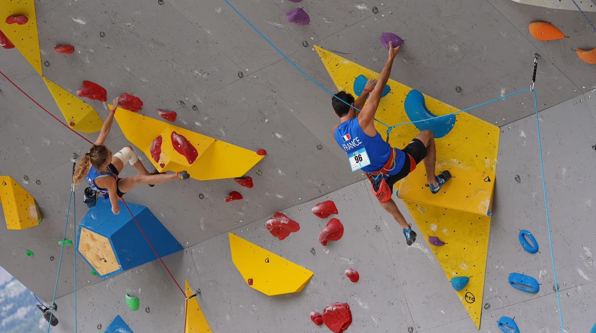 6 Français qualifiés pour la finale handi-escalade à Briançon