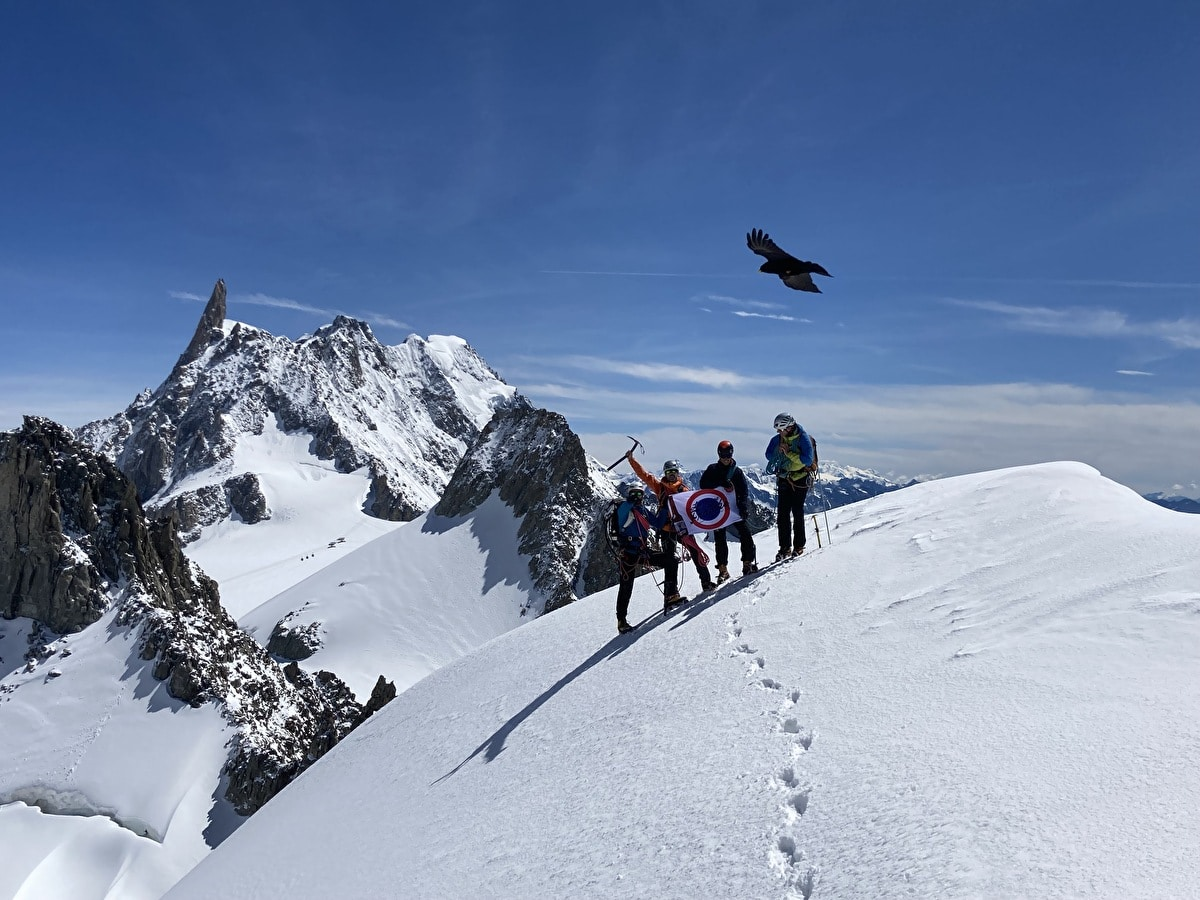 Stages alpinisme pour le club Escalagou (34)