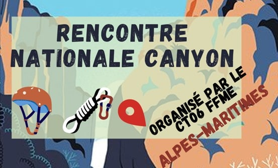 Rencontre nationale canyon 2021